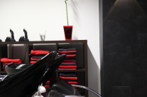 Luxhair-Friseur Salon Waschbecken