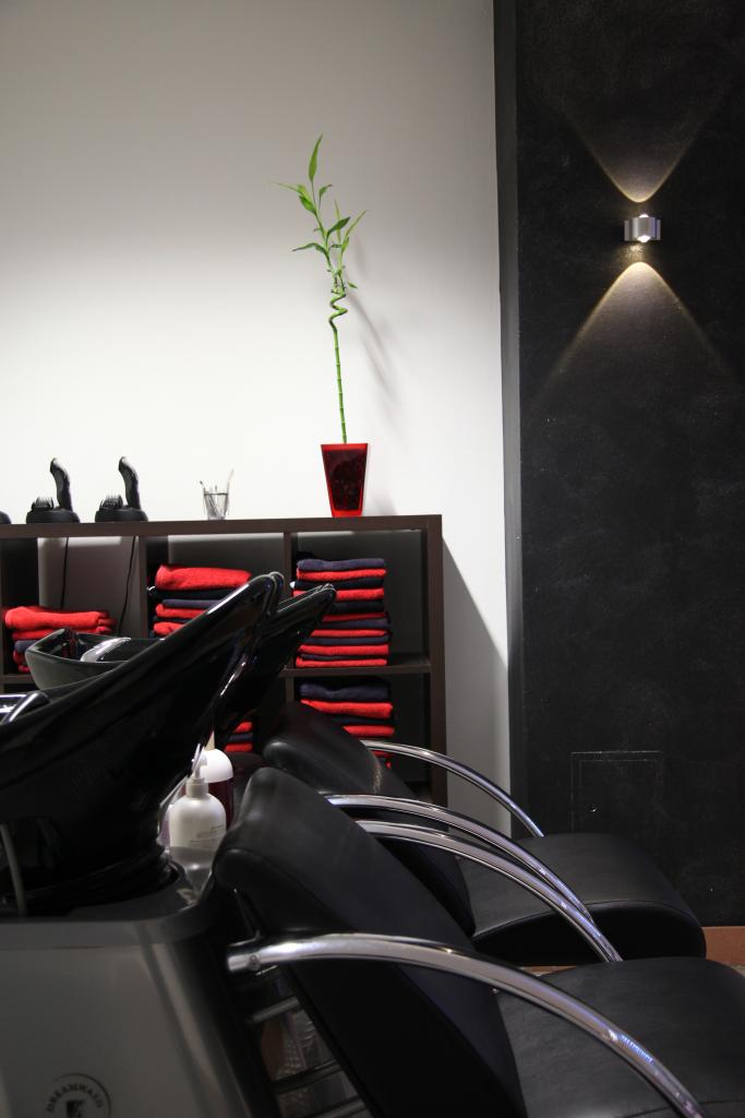 Luxhair-Friseur Haare waschen
